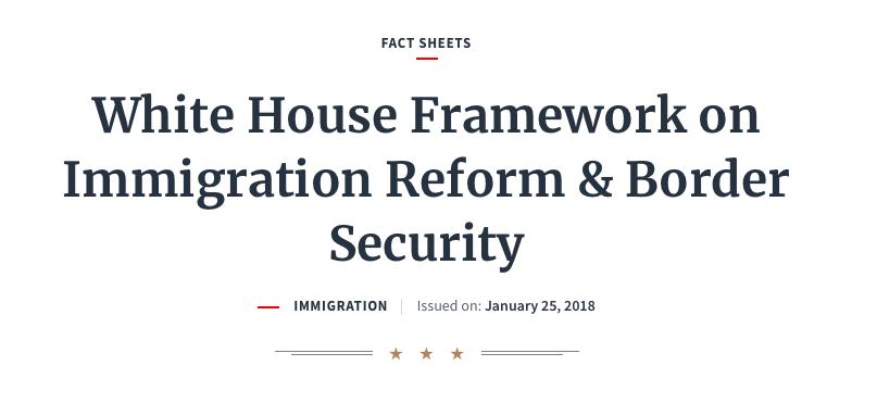 总统移民新框架|将在未来五十年内消减二千二百万合法移民