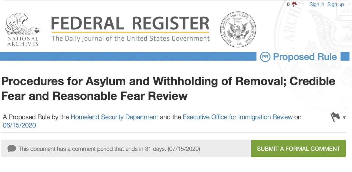 关于川普美国庇护制度新提案,您需要了解什么?